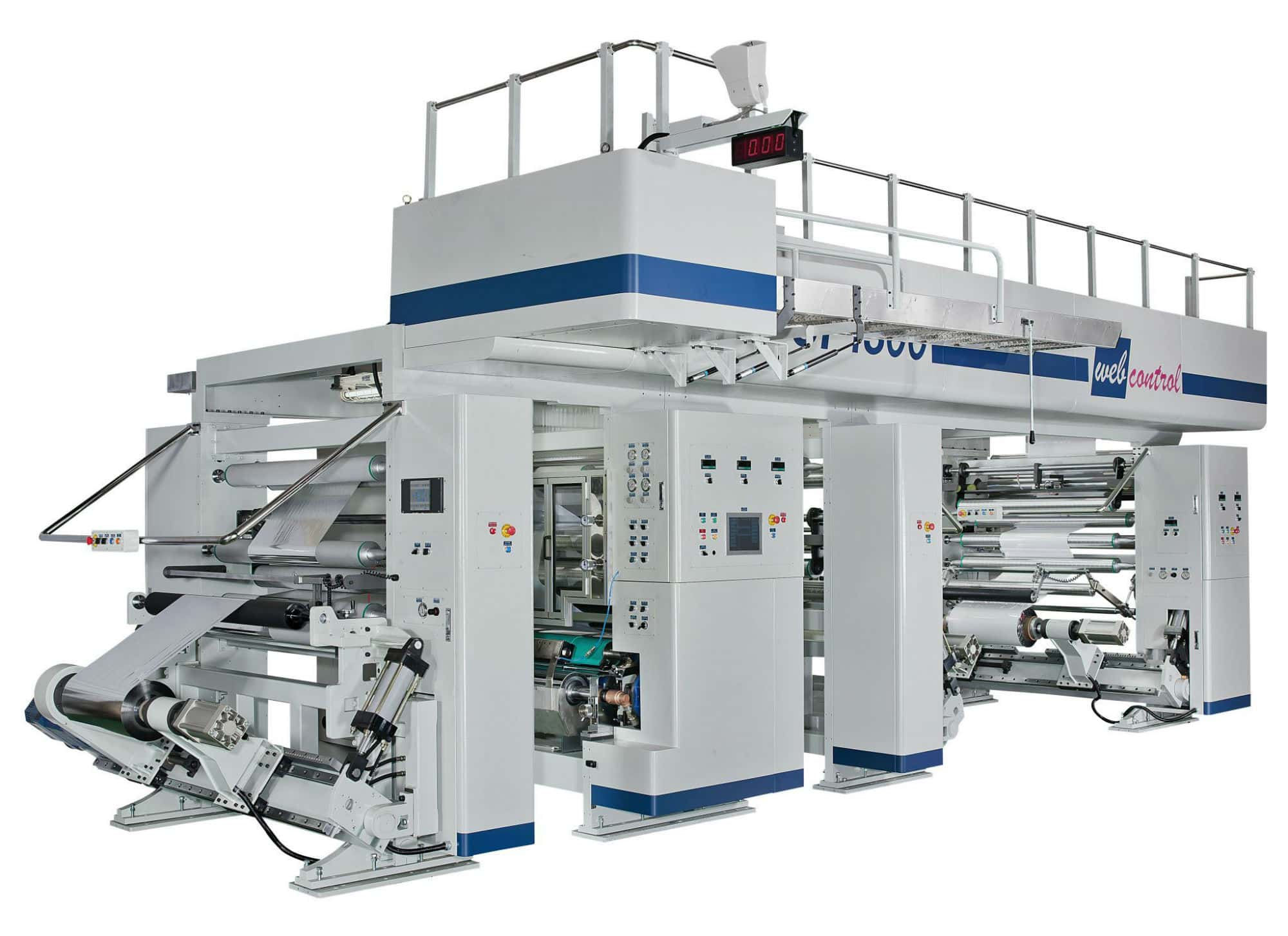 Industrial Laminating Machines For Flexible Packaging